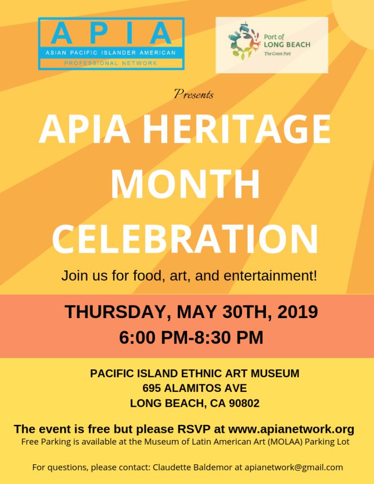 APIA Heritage Month Celebration