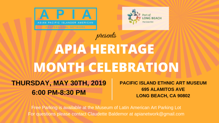 APIA Heritage Month Celebration Banner
